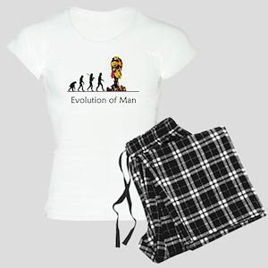 Evolution of Man - Bomb Women's Light Pajamas