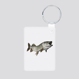 Musky,5 Aluminum Photo Keychain