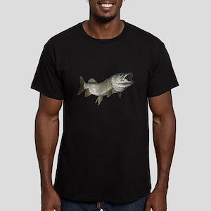 Musky,5 Men's Fitted T-Shirt (dark)
