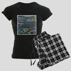Waterlilies Women's Dark Pajamas