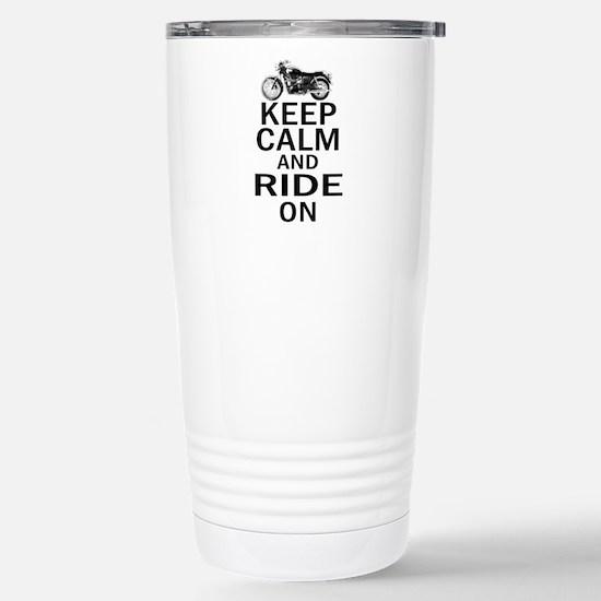 Bonneville - Keep Calm Stainless Steel Travel Mug