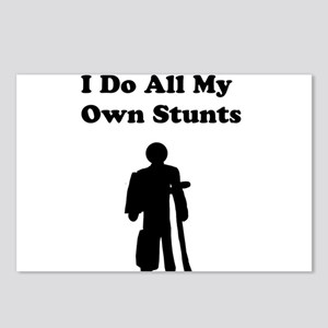 I Do My Own Stunts Postcards (Package of 8)
