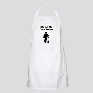 I Do My Own Stunts Apron