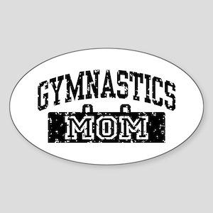 Gymnastics Mom Sticker (Oval)
