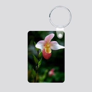 """Pitcher Orchid"" Aluminum Photo Keychain"