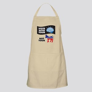 Vote with Your Brain Apron