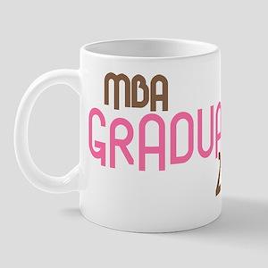 MBA Graduate 2011 (Retro Pink) Mug