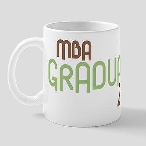 MBA Graduate 2011 (Retro Green) Mug