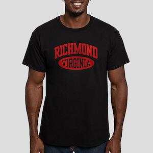 Richmond Virginia Men's Fitted T-Shirt (dark)