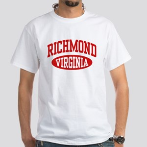 Richmond Virginia White T-Shirt