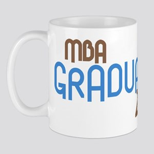 MBA Graduate 2011 (Retro Blue) Mug