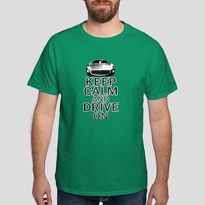 Maserati - Keep Calm Dark T-Shirt