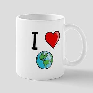 I Heart Earth Mug