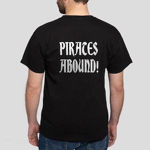PIRATE MONTAGE Dark T-Shirt