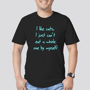 I Like Cats I Just Can't Eat Men's Fitted T-Shirt
