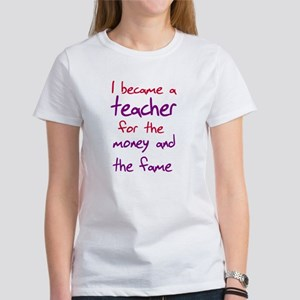 Funny teacher shirts humoring Women's T-Shirt