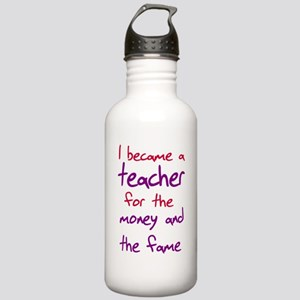 Funny teacher shirts humoring Stainless Water Bott