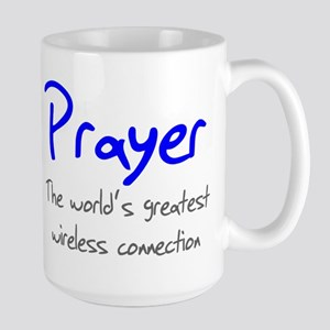 Prayer The World's Greatest W Large Mug