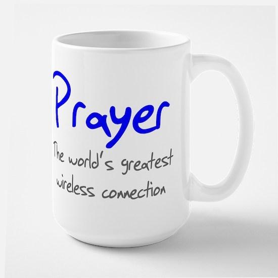 Prayer The World's Greatest W Large Mug