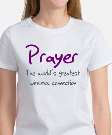 Prayer The World's Greatest W Women's T-Shirt