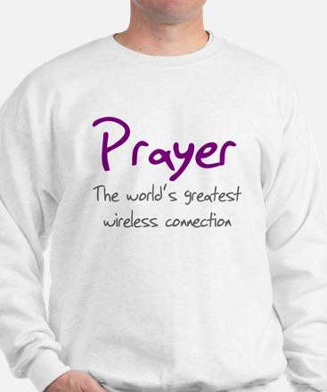 Prayer The World's Greatest W Sweatshirt
