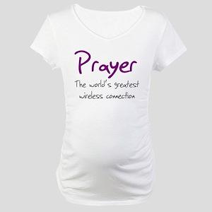 Prayer The World's Greatest W Maternity T-Shirt