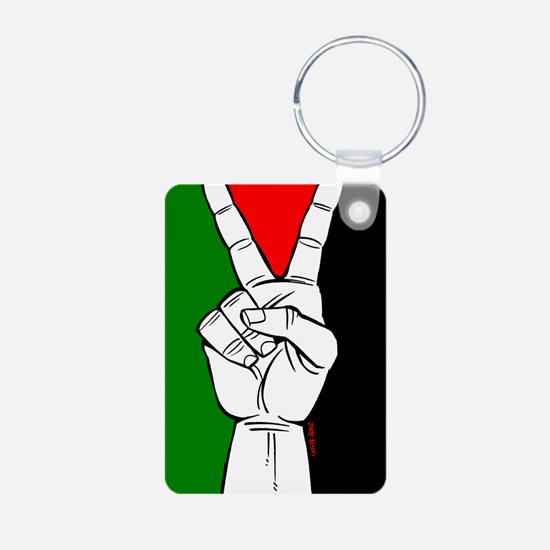Victory fo Palestine Keychains