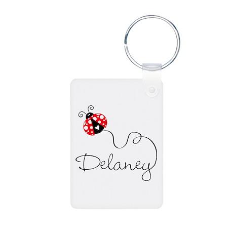 Ladybug Delaney Aluminum Photo Keychain