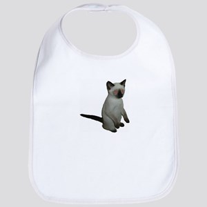 Zombie Kitty Bib