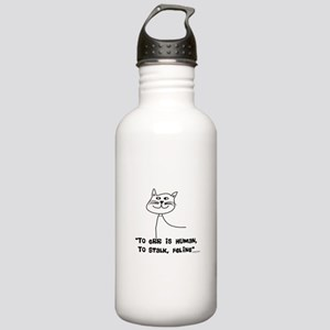 Cat Lovers/Veterinary Stainless Water Bottle 1.0L
