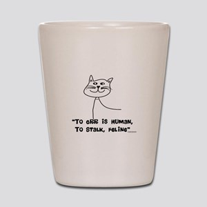 Cat Lovers/Veterinary Shot Glass