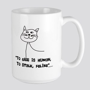 Cat Lovers/Veterinary Large Mug