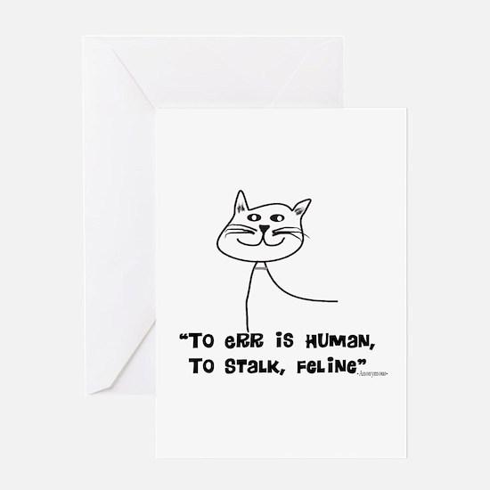 Cat Lovers/Veterinary Greeting Card