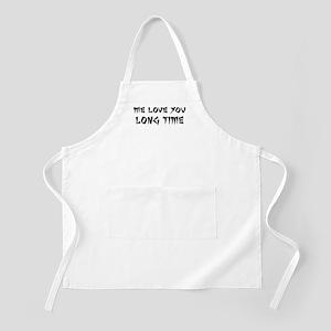 Love You Long Time Apron