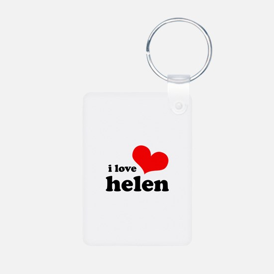 I Love Helen Keychains