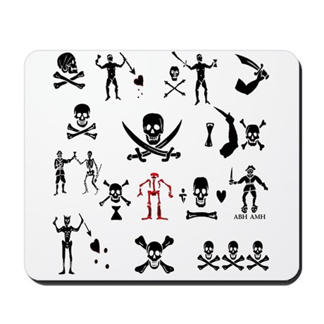 PIRATE MONTAGE Mousepad