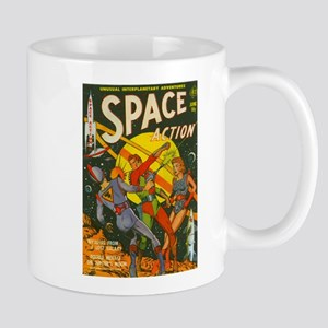 spaceactioncover Mugs