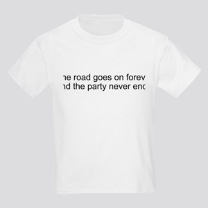 The road goes on forever and Kids Light T-Shirt