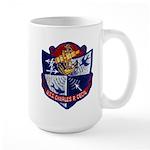 USS CHARLES P. CECIL Large Mug