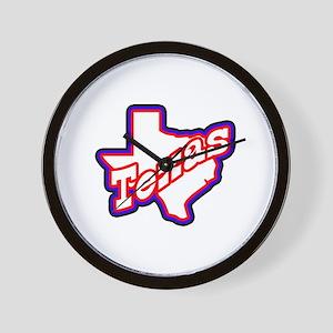 Sporty Texas Wall Clock