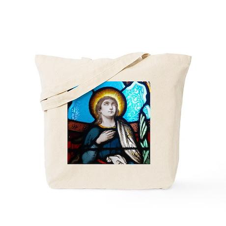St Margaret of Scotland Tote Bag