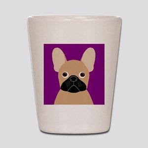 Frenchy (Masked Fawn) Shot Glass