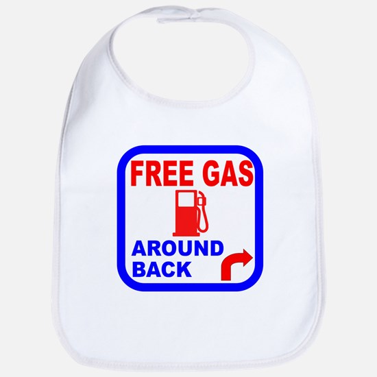Free Gas Around Back Shirt T- Bib