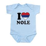 Nole Serbia Infant Bodysuit