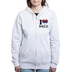 Nole Serbia Women's Zip Hoodie