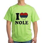 Nole Serbia Green T-Shirt
