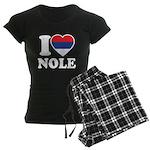 Nole Serbia Women's Dark Pajamas