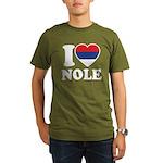 Nole Serbia Organic Men's T-Shirt (dark)