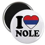 Nole Serbia Magnet
