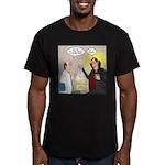 Vampire Eye Doctor Plo Men's Fitted T-Shirt (dark)